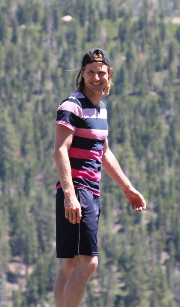 David Fiala at Lake Tahoe July 2013